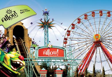 All day pass για το Allou Fun Park με μόλις 12€