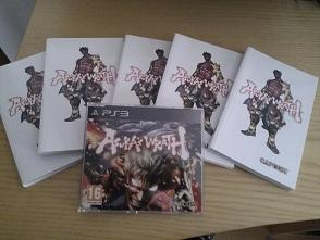 Asuras Wrath Διαγωνισμός του XGamers με δώρο ένα αντίτυπο του Asura's Wrath για το PS3 και 5 βιβλιαράκια με επίσημο artwork του παιχνιδιού