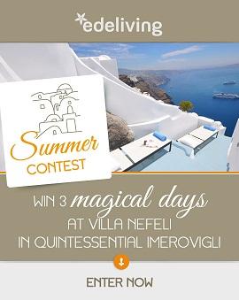 eli003 cycladia blog Διαγωνισμός Edeliving με δώρο 3 μέρες για 2 άτομα στην μαγευτική βίλα Νεφέλη στη Σαντορίνη