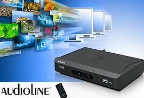 αποκωδικοποιητης Ο πιο σύγχρονος & μικρός αποκωδικοποιητή AUDIOLINE AL BK09 MPEG4 (SD) με ελληνικό μενού, από 24€