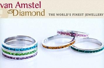 δαχτυλίδια Επάργυρο Δαχτυλίδι με Swarovski Elements σε 13 Ζωηρά Χρώματα και 11 Μεγέθη με μόλις 14.90€