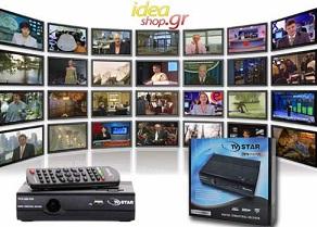 επίγειος ψηφιακος δέκτης Ένας επίγειος ψηφιακός δέκτης MPEG4 TV STAR T910 USB PVR με μόλις 28,7€