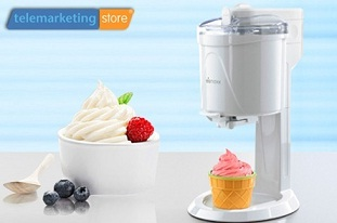 παγωτομηχανη Μία Παγωτομηχανή Soft Ice Cream Maker από μόλις 47,90€