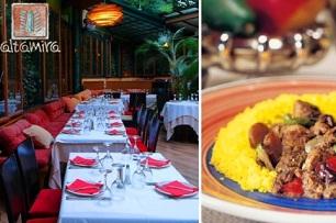 Altamira Ένα Γεύμα, με Ελεύθερη Επιλογή από τον Κατάλογο, στα Εστιατόρια Πολυεθνικής Κουζίνας Altamira με μόλις 9,50€