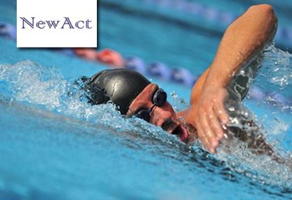 new act 2 γυαλάκια κολύμβησης και 2 σκουφάκια σιλικόνης, από μόλις 12€