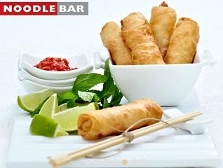"noodle bar Ένα ατομικό μενού με ελεύθερη επιλογή από τον κατάλογο του ""Noodle Bar"", με μόλις 6€"