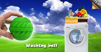 wash ball Οικολογική μπάλα πλυσίματος washing ball για το πλυντήριο των ρούχων σας, με μόνο 7,90€
