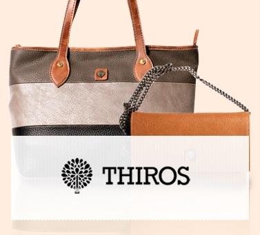 Μεγάλες Προσφορές σε τσάντες Thiros έως -85% από το BrandsGalaxy! 6579e3c4284