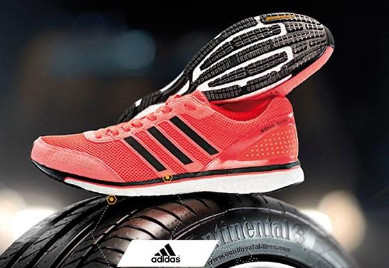 Διαγωνισμός Continental με δώρο αθλητικά adidas κάθε εβδομάδα