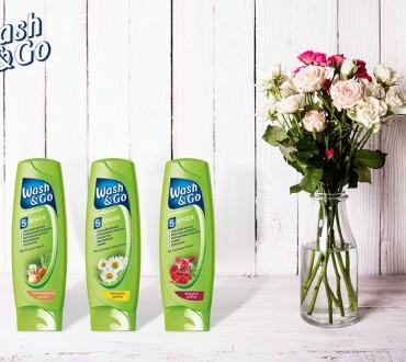 Διαγωνισμός Wash&Go με δώρο 3 σετ προϊόντων