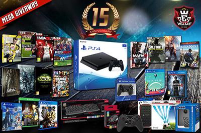 Διαγωνισμός WeHellas.gr με δώρο PS4, Video Games και περιφερειακά