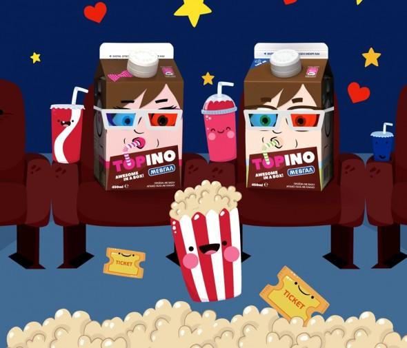 Διαγωνισμός Topino με δώρο προσκλήσεις για τα Odeon-Ster Cinemas