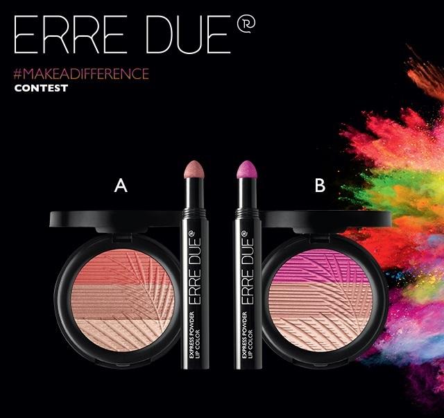 Διαγωνισμός ERRE DUE με δώρο My Fancy Blush και Express Powder Lip Color
