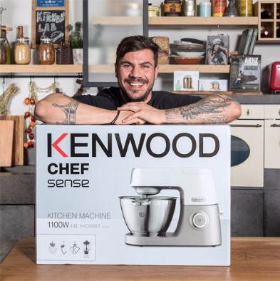 Διαγωνισμός Akis Petretzikis με δώρο κουζινομηχανή Kenwood