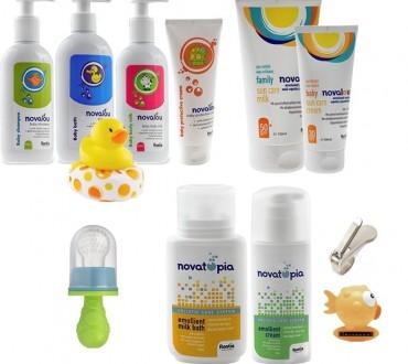 Διαγωνισμός Novalou με δώρο 3 σετ με προϊόντα