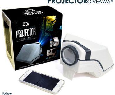 Διαγωνισμός Whisle Film με δώρο smartphone projector
