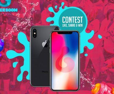 Διαγωνισμός Waterboom Festival με δώρο iPhone X