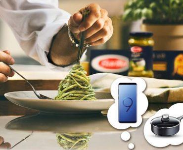 Διαγωνισμός My Market με δώρο Samsung Galaxy S9+ και 10 Σωτέζες Tefal