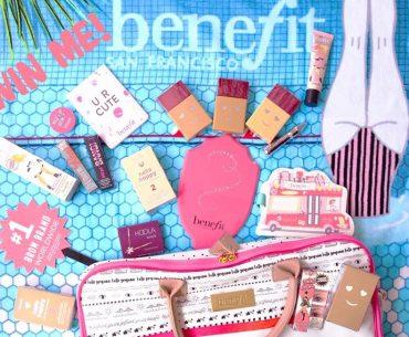 Διαγωνισμός Benefit Cosmetics με δώρο 3 καλοκαιρινά πακέτα με προϊόντα
