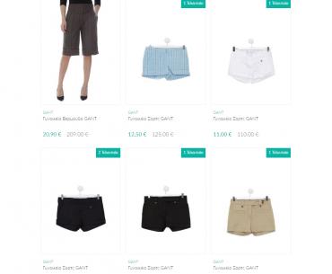 a226551e25e Εκπτώσεις έως -90% σε γυναικεία ρούχα GANT & καλλυντικά Estee Lauder στο  brandsGalaxy