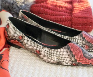 4dfc6547584 Διαγωνισμός Shoe Blogging με δώρο φιδίσια φλατ