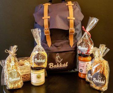 Διαγωνισμός Bakkal με δώρο 5 backbags με προϊόντα Delicatessen