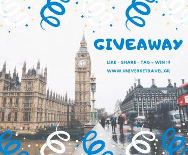 Διαγωνισμός Universe Travel με δώρο 4ήμερο στο Λονδίνο