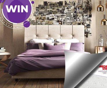 Διαγωνισμός Δοβλέτογλου Έπιπλο με δώρο διπλό κρεβάτι με στρώμα Media Strom
