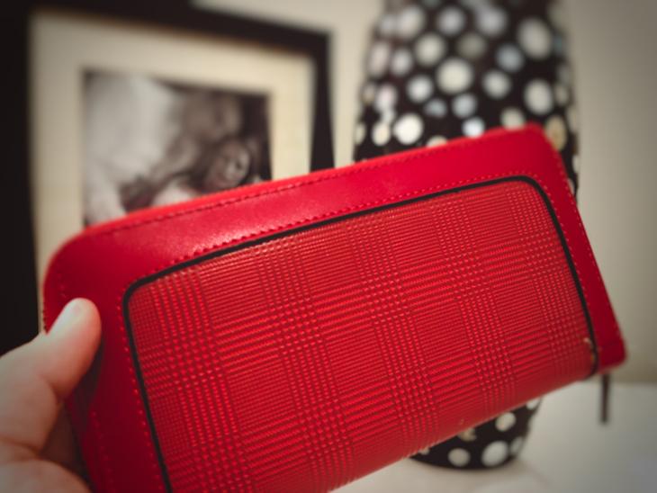 Diagonismos Red Wallet