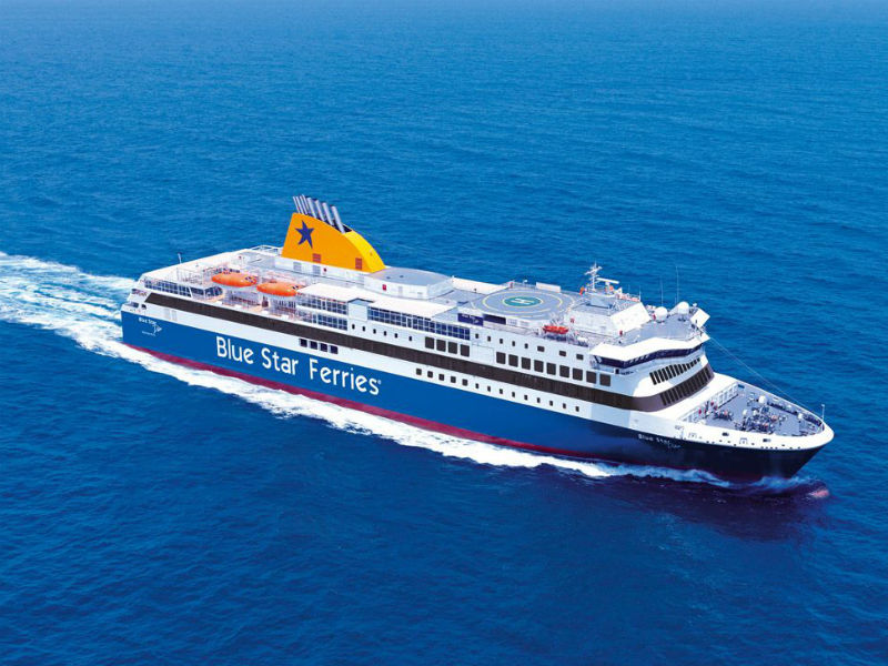 Blue Star Ferries Delos
