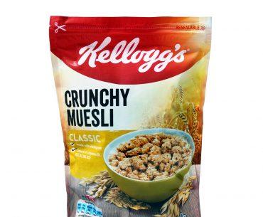 Mousli Mpoukies Crunchy 380g Classic Kellogg S Crunchy Muesli