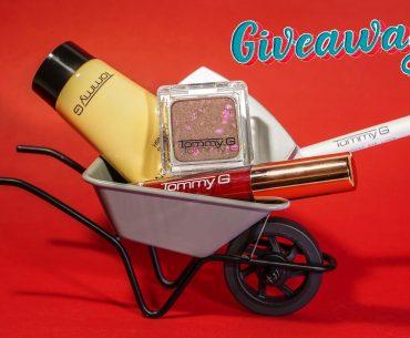 Διαγωνισμός Tommy G Cosmetics με δώρο προϊόντα σε 6 τυχερούς