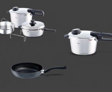 Διαγωνισμός Fissler με δώρο μαγειρικά σκεύη σε 12 τυχερούς