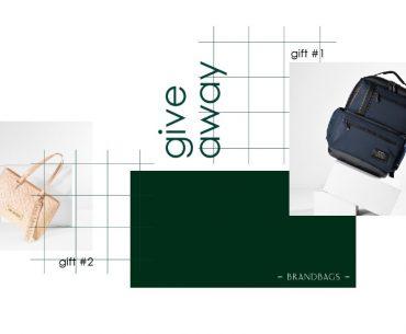 Διαγωνισμός BrandBags με δώρο ένα Samsonite Backpack και τσάντα Love Moschino