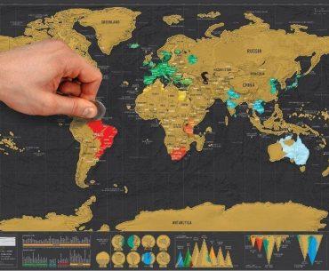 Διαγωνισμός Travelshare με δώρο Scratch Map