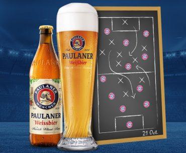 Διαγωνισμός Paulaner με δώρο υπογεγραμμένες αγωνιστικές φανέλες FC Bayern Munich