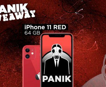Διαγωνισμός Panik Records με δώρο iPhone 11 Red