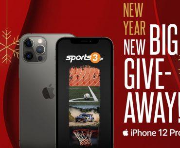 Διαγωνισμός Sports3.gr με δώρο IPhone 12 Pro
