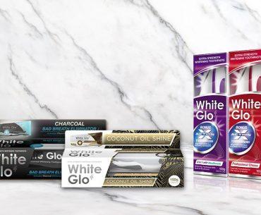 Διαγωνισμός White Glo με δώρο συσκευασίες προϊόντων